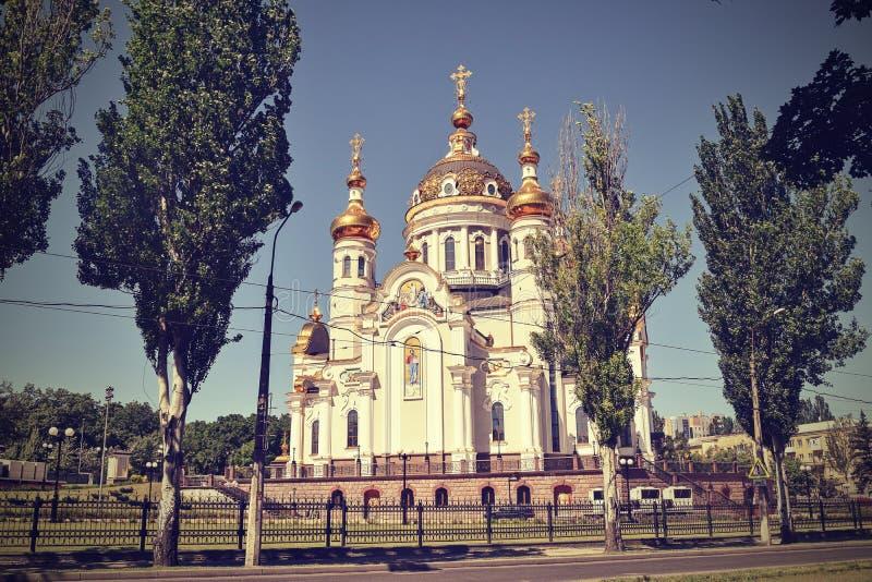 Download Incroci Ortodossi Sulle Cupole Dell'oro Fotografia Stock - Immagine di pilgrimage, credenza: 117979776
