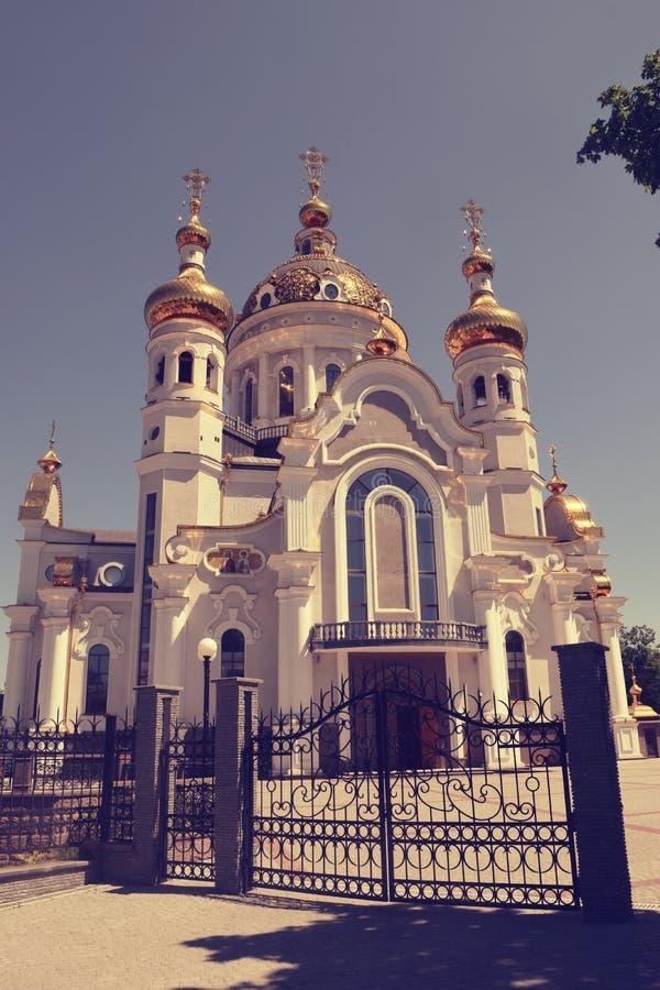 Download Incroci Ortodossi Sulle Cupole Dell'oro Immagine Stock - Immagine di traversa, anima: 117980283