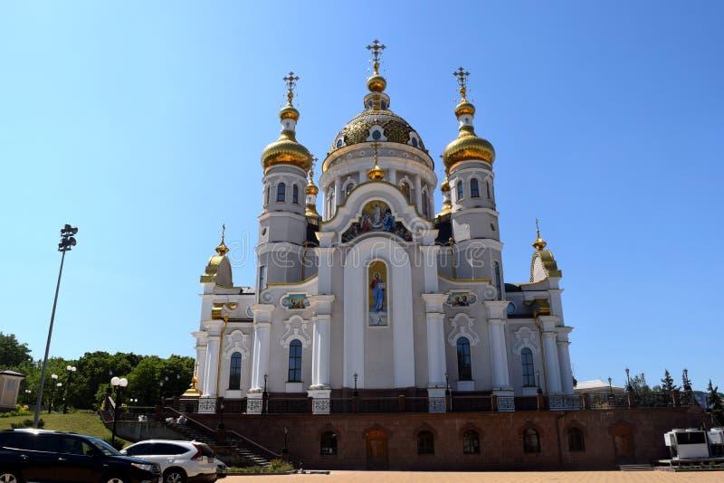 Download Incroci Ortodossi Sulle Cupole Dell'oro Immagine Stock - Immagine di architettura, orthodoxy: 117980373