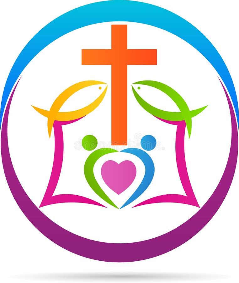 Incrocio di Cristianità illustrazione di stock