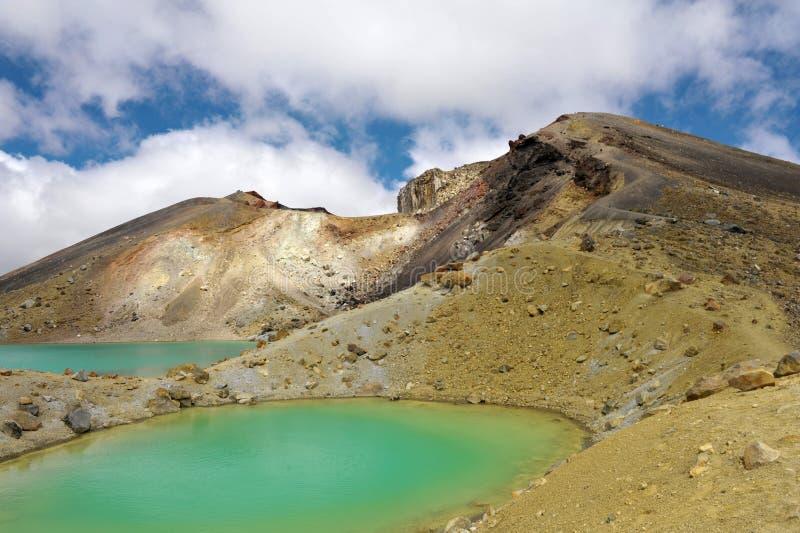 Incrocio di Tongariro immagini stock libere da diritti
