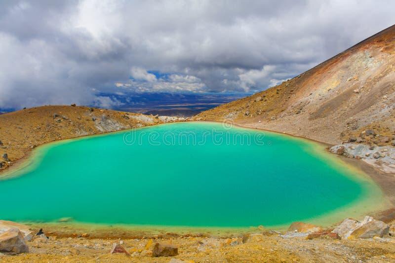 Incrocio di Tongariro fotografia stock