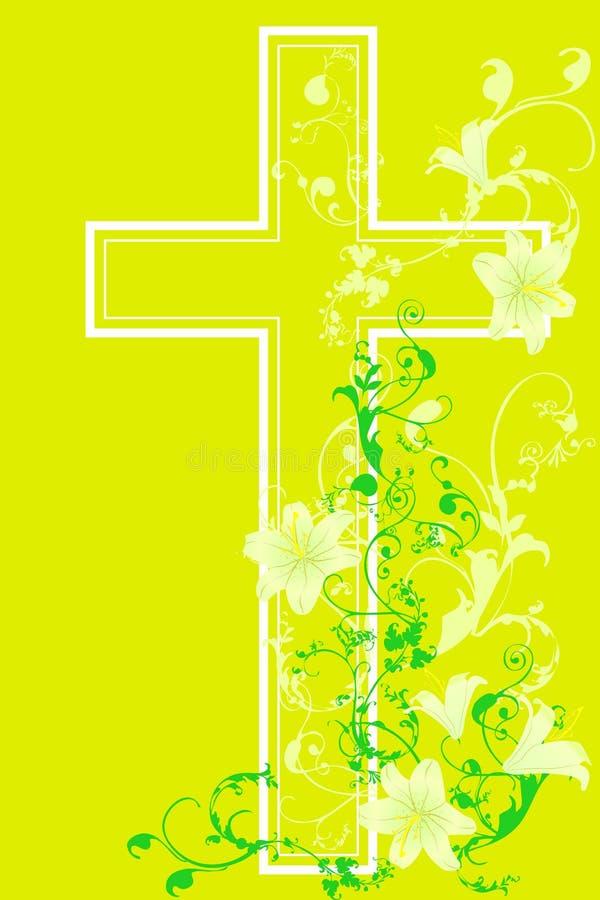 Incrocio e pianta cristiani 15 royalty illustrazione gratis