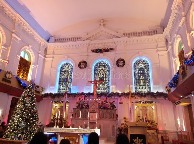 Incrocio santo del Natale immagini stock libere da diritti