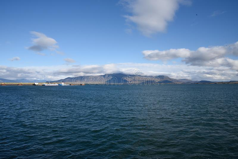 Incursione di Reykjavik fotografie stock