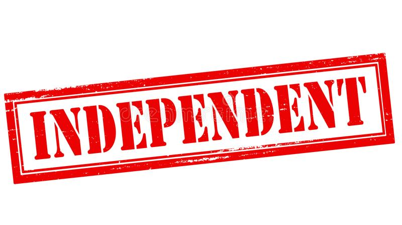 indépendant illustration libre de droits