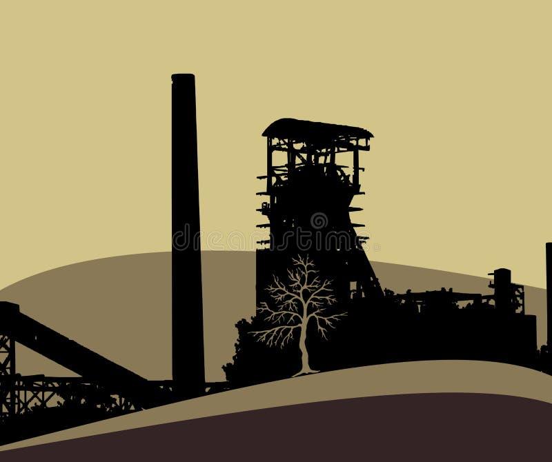 Indústria ilustração do vetor