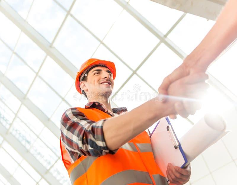 Indústria da construção civil imagem de stock