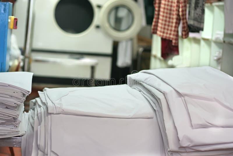 Indústria da lavanderia fotografia de stock