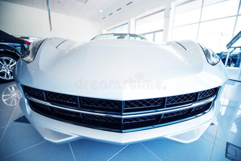 Indústria das vendas do carro foto de stock