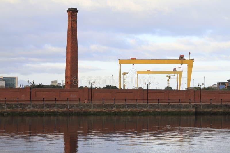 Indústria de Belfast imagens de stock