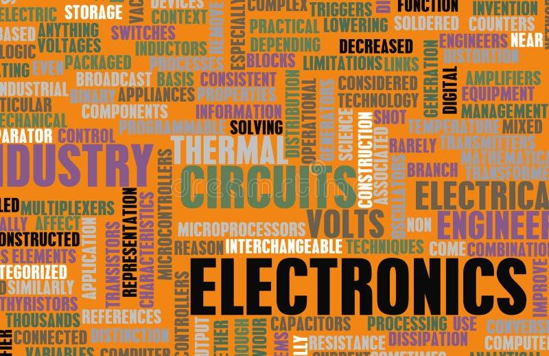 Indústria de eletrônica ilustração do vetor