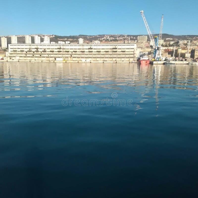 Indústria do mar imagens de stock