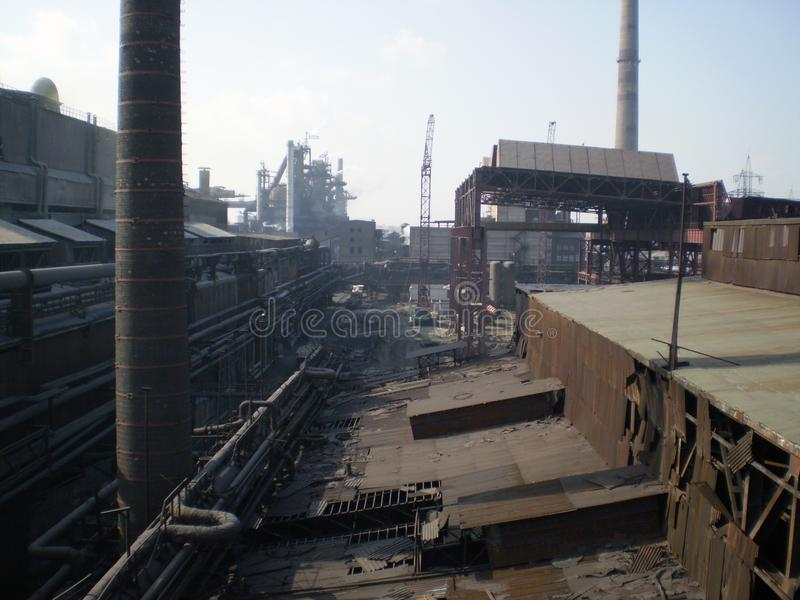 Indústria metalúrgica fotografia de stock royalty free