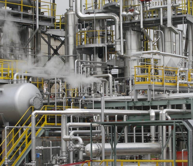 Indústria petroleira 2 fotografia de stock royalty free