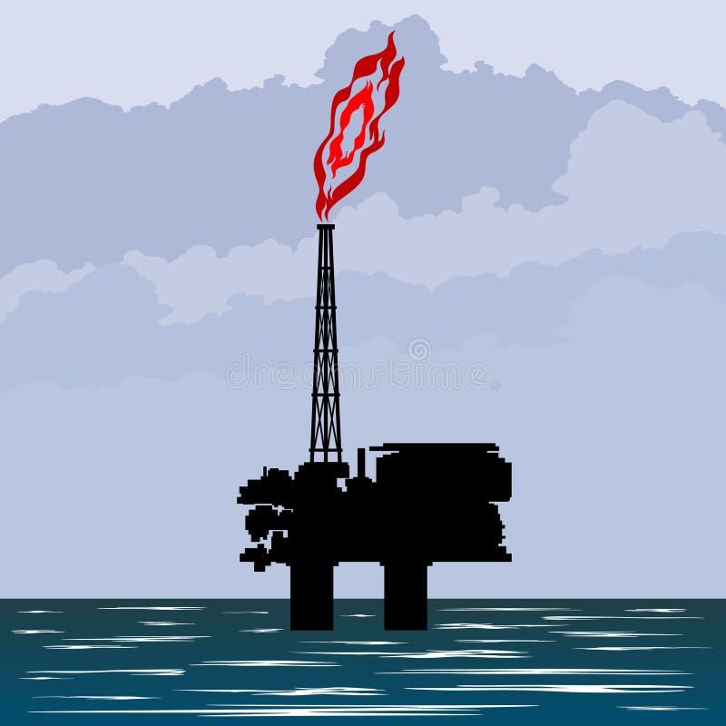Download A indústria petroleira ilustração stock. Ilustração de dispositivo - 26508445