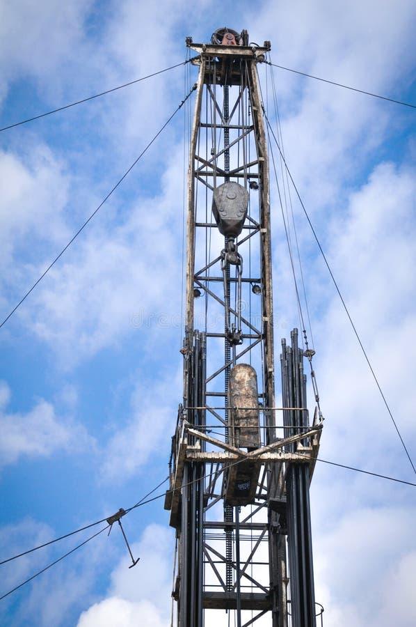 Indústria petroleira, facilidade do reparo do navio fotografia de stock