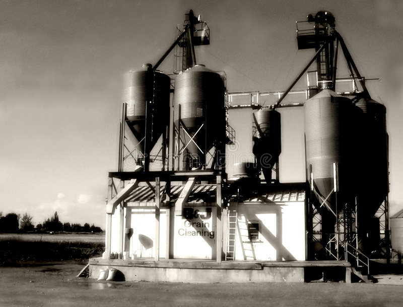 Indústria rural foto de stock