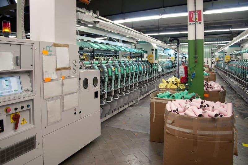 Indústria têxtil foto de stock