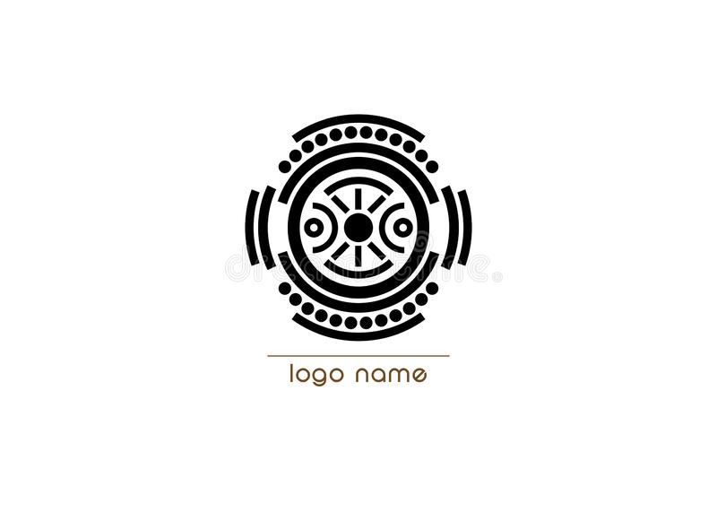 Vector logo indigenous ethnicity tribal concept, Cultural diversity word cloud concept isolated on white background. Vector logo indigenous ethnicity tribal vector illustration