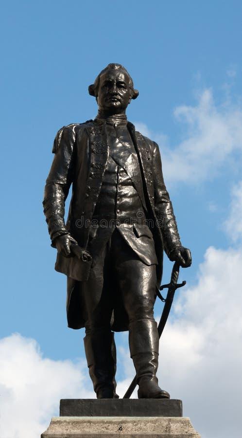 ind clive statua obraz stock
