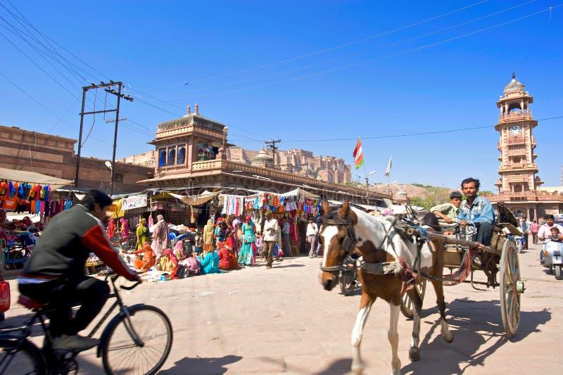 ind Jodhpur obrazy stock