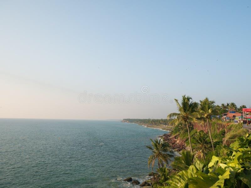 ind Kerala varkala fotografia royalty free