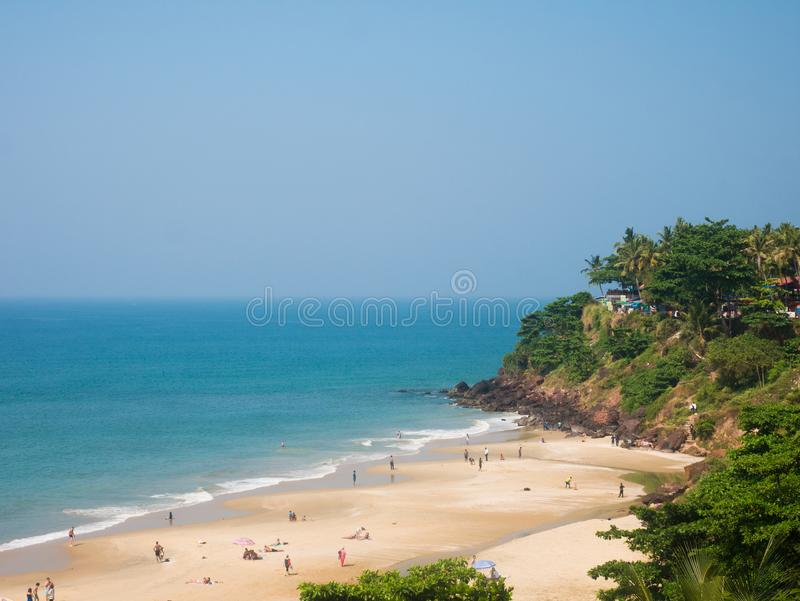 ind Kerala varkala obrazy royalty free