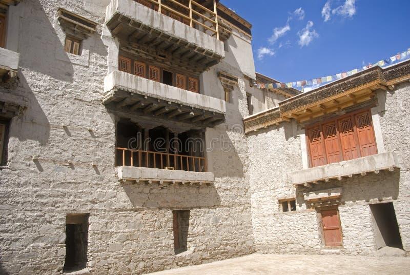 ind ladakh leh pałac obraz royalty free