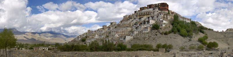 ind ladakh monasteru thikse obraz stock