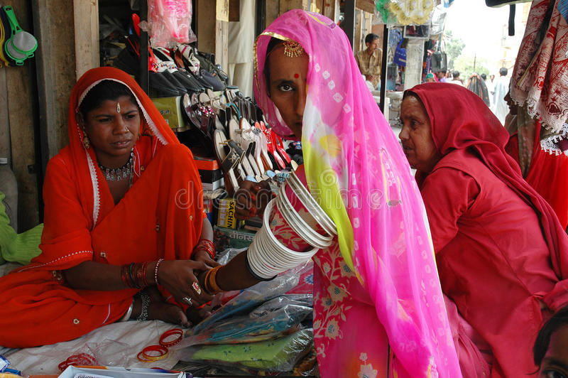 ind Rajasthan kobiety fotografia stock