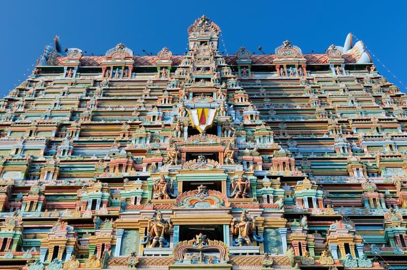 ind srirangam świątynia fotografia royalty free