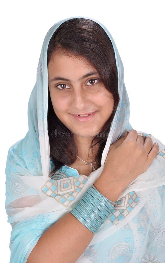 indaian punjabiby för flicka royaltyfri foto