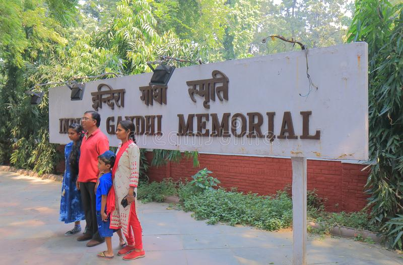 Inde d'Indira Gandhi Museum New Delhi photo stock