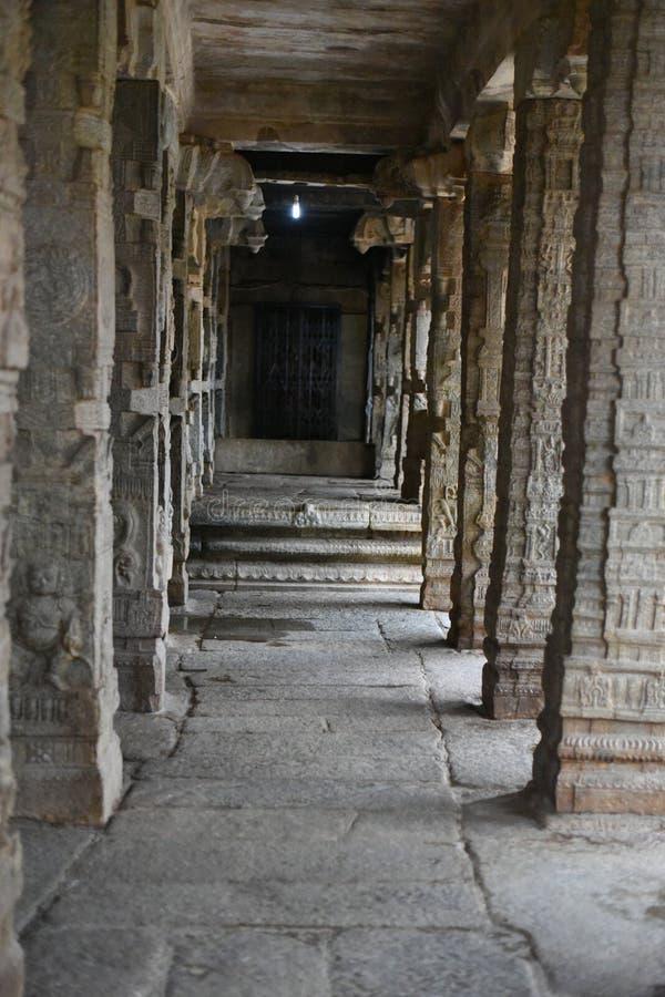 Inde de Lepakshi de temple de Veerabhadra photos libres de droits