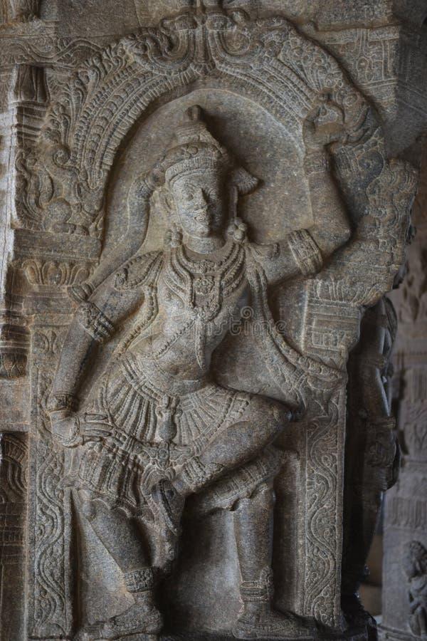 Inde de Lepakshi de temple de Veerabhadra image stock