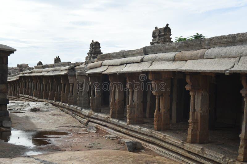 Inde de Lepakshi de temple de Veerabhadra photographie stock