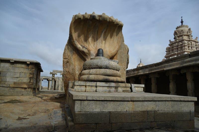 Inde de Lepakshi de temple de Veerabhadra photos stock