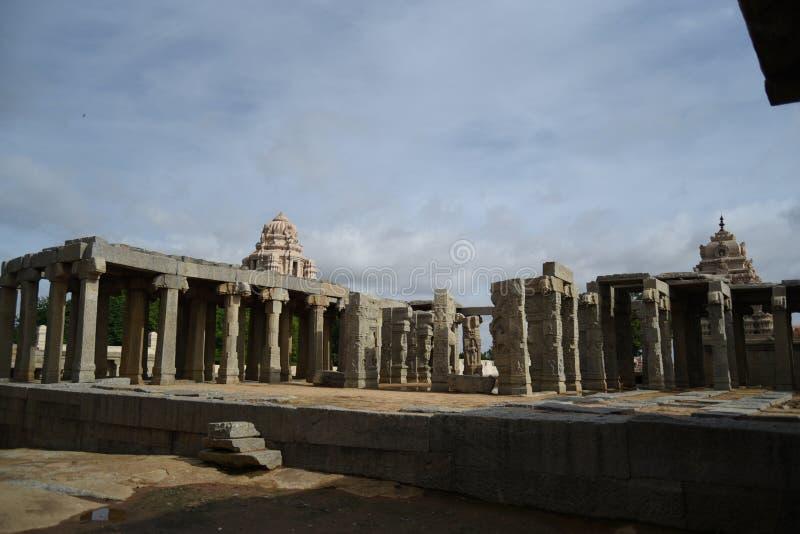 Inde de Lepakshi de temple de Veerabhadra images libres de droits