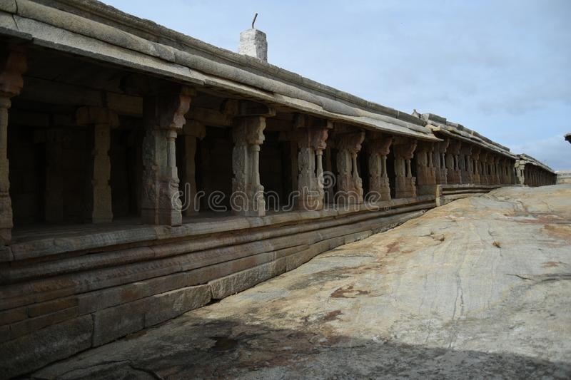 Inde de Lepakshi de temple de Veerabhadra photo stock