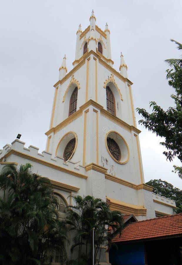 Inde de Mumbai d'église de St Thomas Cathedral photos libres de droits