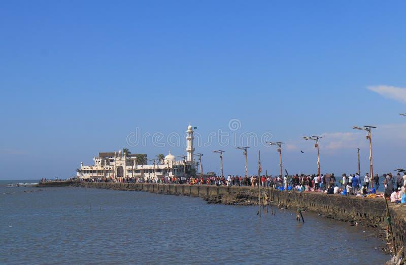 Inde de Mumbai de mosquée de Haji Ali Dargah photographie stock libre de droits