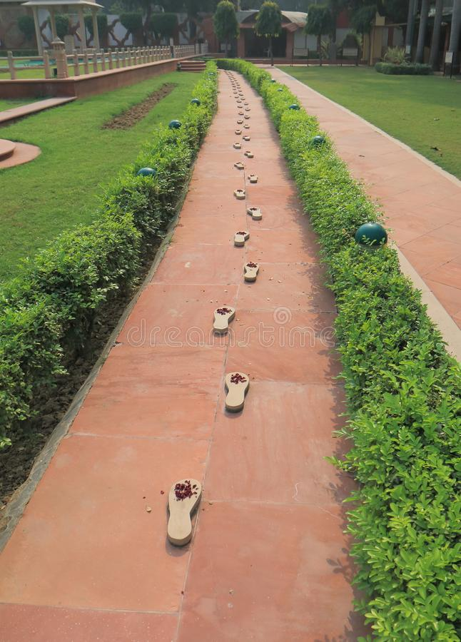 Inde de New Delhi de musée de Gandhi Smriti image stock