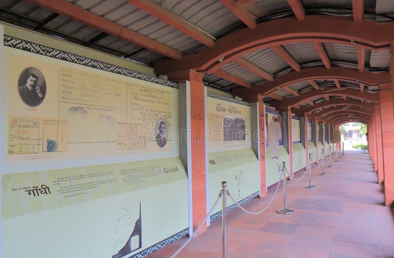 Inde de New Delhi de musée de Gandhi Smriti image libre de droits