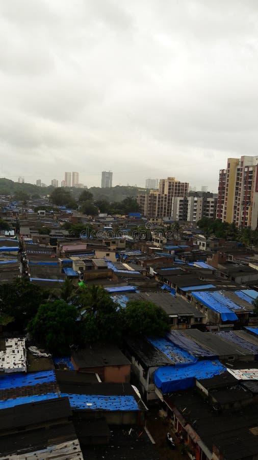 Inde de taudis de Mumbai photos stock
