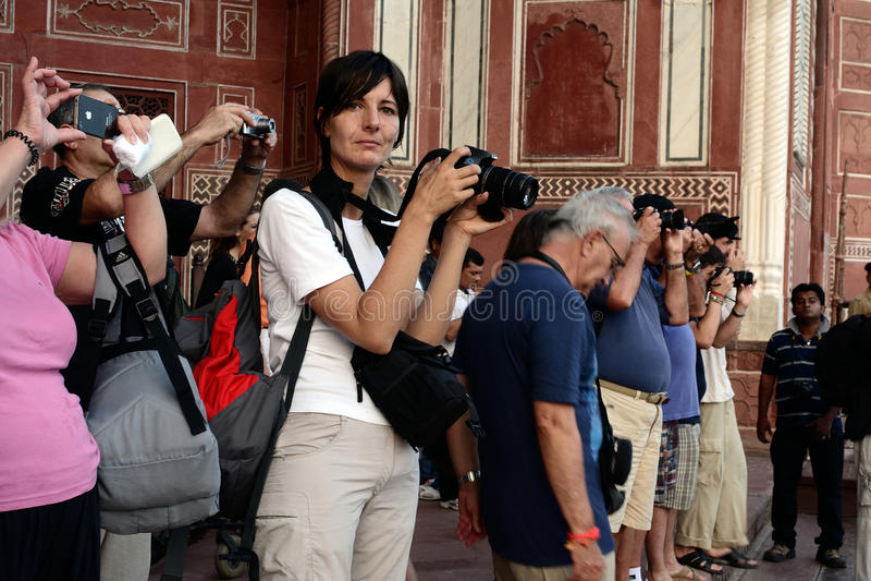Inde de voyage image stock