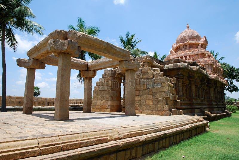 Inde indienne de Thanjavur de temple photo stock