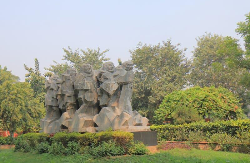 Inde nationale de New Delhi de musée de Gandhi image stock