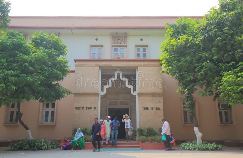Inde nationale de New Delhi de musée de Gandhi photographie stock libre de droits