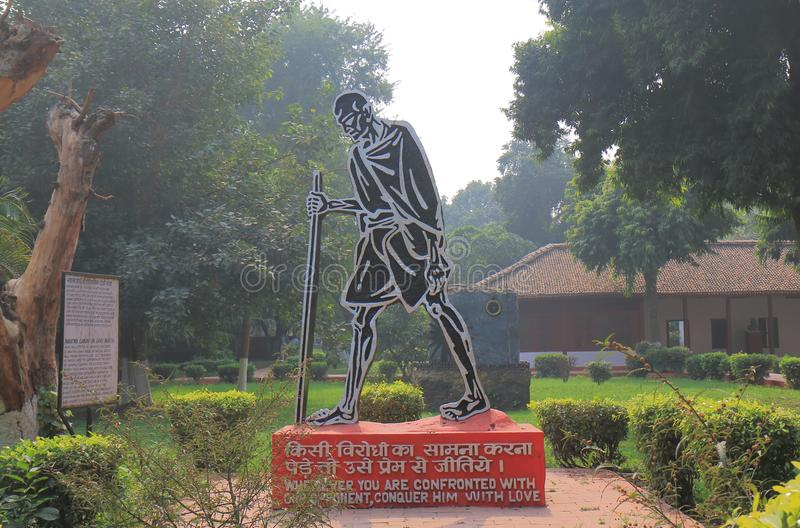 Inde nationale de New Delhi de musée de Gandhi photo stock